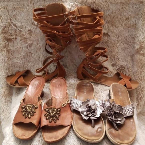 fefb2b3eded Clarks Shoes - Bundle of summer sandals!